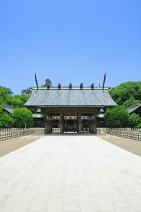 宮崎神宮の写真素材 [FYI04740852]