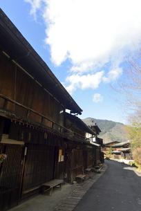 中山道妻籠宿の写真素材 [FYI04740965]
