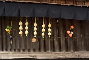 妻籠宿 干し柿の写真素材 [FYI04740967]