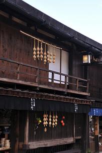 中山道妻籠宿の写真素材 [FYI04741019]