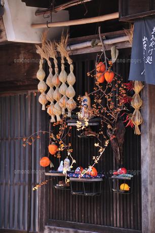 中山道妻籠宿の写真素材 [FYI04741026]