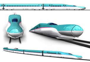 新幹線セット1のイラスト素材 [FYI04741083]