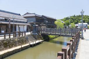 小江戸さわら 小野川とジャージャー橋の写真素材 [FYI04741213]