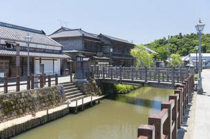 小江戸さわら 小野川とジャージャー橋の写真素材 [FYI04741219]