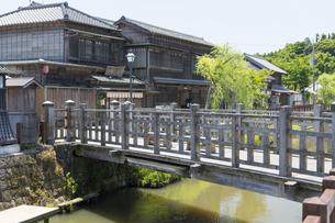 小江戸さわら 小野川とジャージャー橋の写真素材 [FYI04741224]