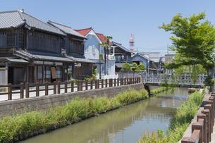 小江戸さわら 小野川とジャージャー橋の写真素材 [FYI04741270]