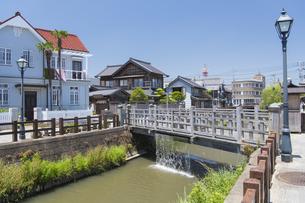 小江戸さわら 小野川とジャージャー橋の写真素材 [FYI04741351]