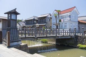 小江戸さわら 小野川とジャージャー橋の写真素材 [FYI04741353]