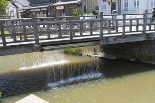 小野川のジャージャー橋の写真素材 [FYI04741354]