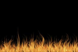 炎の背景の写真素材 [FYI04741419]
