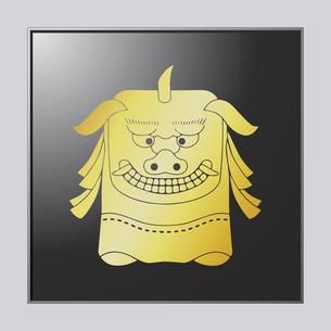 獅子頭のイラスト素材 [FYI04741586]