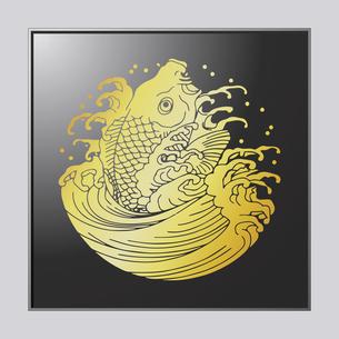 鯉水のイラスト素材 [FYI04741599]