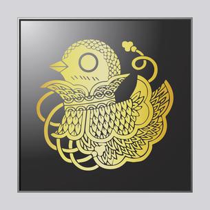 鳥形兜のイラスト素材 [FYI04741605]