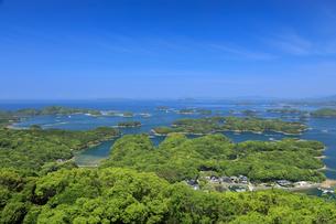 展海峰より望む九十九島の写真素材 [FYI04741810]