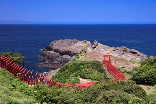 元乃隅稲成神社の写真素材 [FYI04741834]