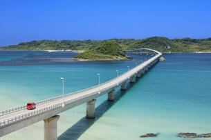 角島大橋の写真素材 [FYI04741839]