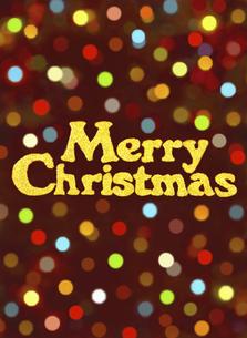 メリークリスマスの写真素材 [FYI04741941]