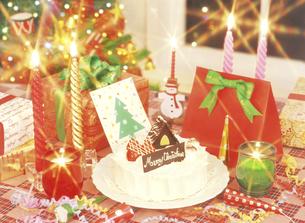 クリスマスパーティの写真素材 [FYI04741950]