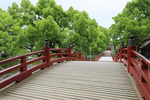 太宰府天満宮の太鼓橋の写真素材 [FYI04741998]