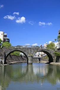 眼鏡橋の写真素材 [FYI04742026]