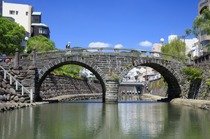 眼鏡橋の写真素材 [FYI04742027]