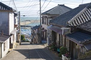 銚子と戸川の街の写真素材 [FYI04742087]