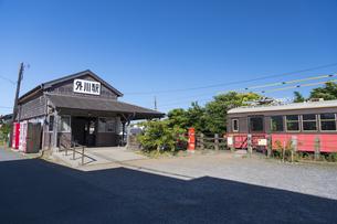 銚子電鉄戸川駅の写真素材 [FYI04742128]