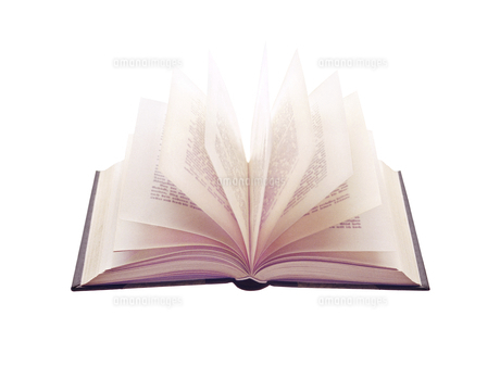 本のページの写真素材 [FYI04742182]