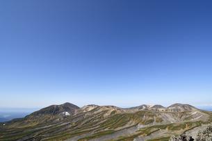 白雲岳から見た旭岳方面(北海道・大雪山)の写真素材 [FYI04742350]