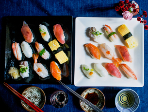 お寿司の写真素材 [FYI04742385]