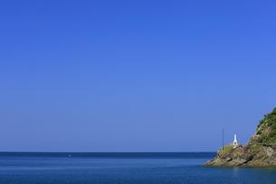 海上マリア像の写真素材 [FYI04742480]
