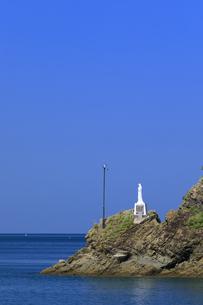 海上マリア像の写真素材 [FYI04742483]