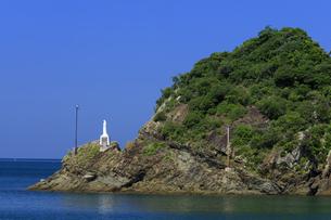 海上マリア像の写真素材 [FYI04742485]