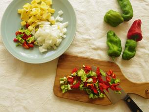 野菜カットの写真素材 [FYI04742528]
