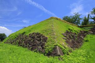 原城跡の本丸櫓台跡の写真素材 [FYI04742578]