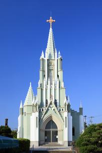 平戸ザビエル記念教会の写真素材 [FYI04742596]