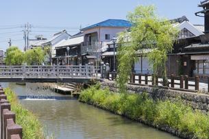 小江戸さわら 小野川とジャージャー橋の写真素材 [FYI04742696]
