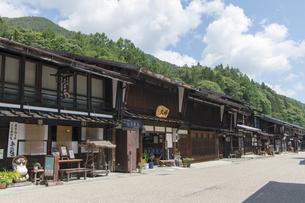 中山道 奈良井宿 の写真素材 [FYI04742794]