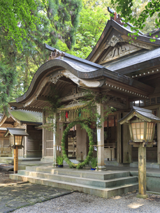 高千穂神社の写真素材 [FYI04743042]
