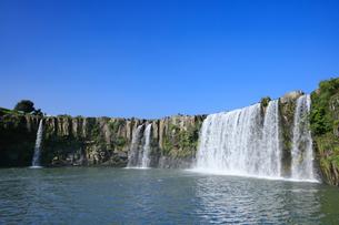 原尻の滝の写真素材 [FYI04743101]