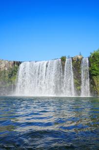 原尻の滝の写真素材 [FYI04743109]