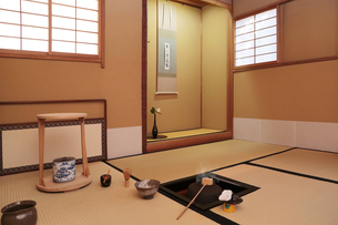 茶室の写真素材 [FYI04743169]