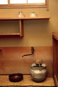 茶室の水屋の写真素材 [FYI04743185]