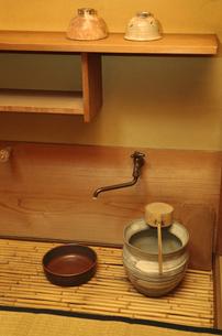 茶室の水屋の写真素材 [FYI04743186]
