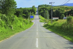 ジエットコースターの路の写真素材 [FYI04743587]