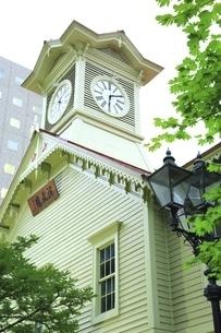 札幌時計台の写真素材 [FYI04743632]
