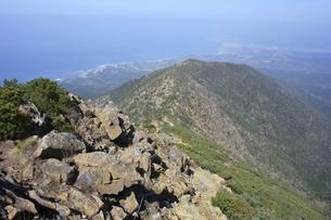 アポイ岳から見た太平洋(北海道・アポイ岳)の写真素材 [FYI04744070]