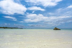 美しいビーチ宮古島 17ENDの写真素材 [FYI04744131]