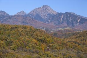 秋の八ヶ岳の写真素材 [FYI04744866]
