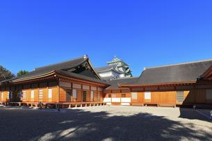 名古屋城天守と本丸御殿の写真素材 [FYI04745622]